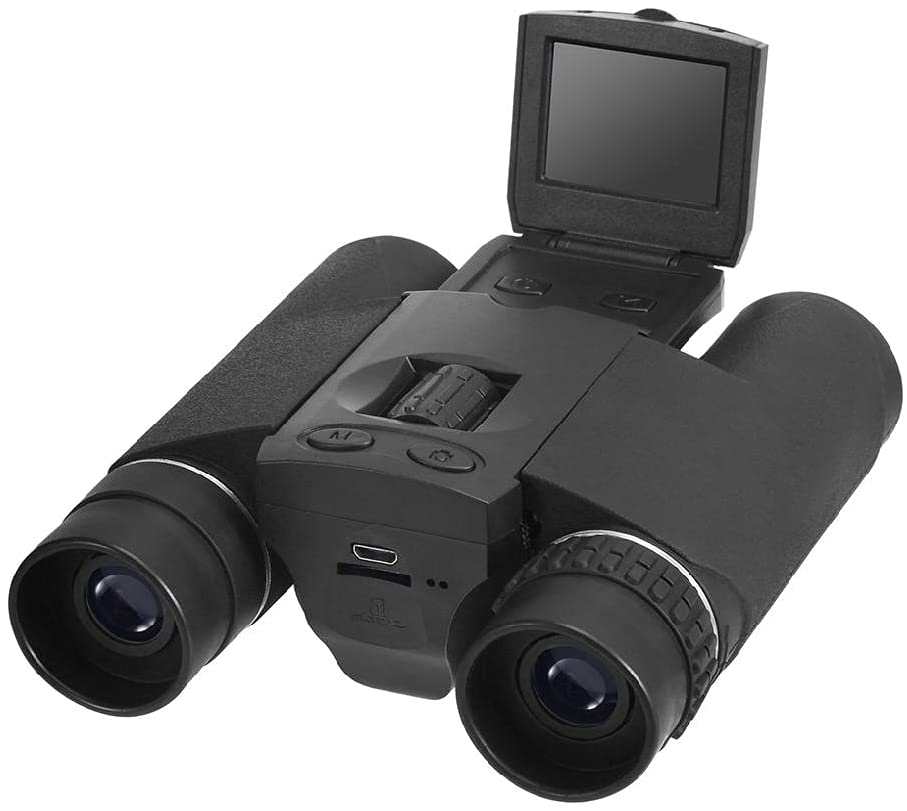 binoculars with camera